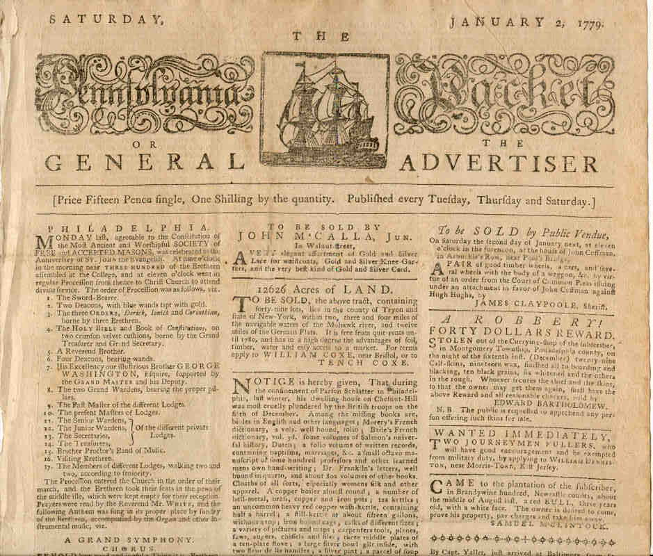 not-so-secret vices: old newspapers