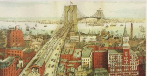 The Brooklyn Bridge. Click for larger image.